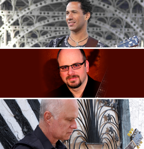 David Gilmore, Matthew Finck, and John Hart